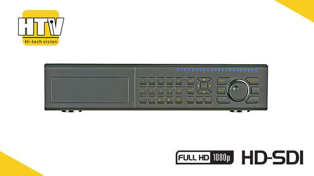 8 канальный HD SDI видеорегистратор HTV-SDI2P08 Pro