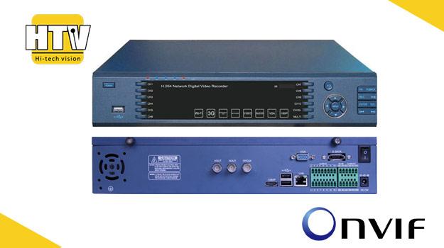 4 канальный NVR IP видеорегистратор HTV-IP-1504