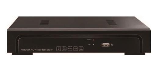 HTV-N1516 16 канальный NVR IP видеорегистратор H.265 4K 1U