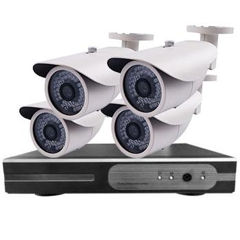 Комплект видеонаблюдения на 4 камеры HTV