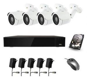 PLC комплект видеонаблюдения