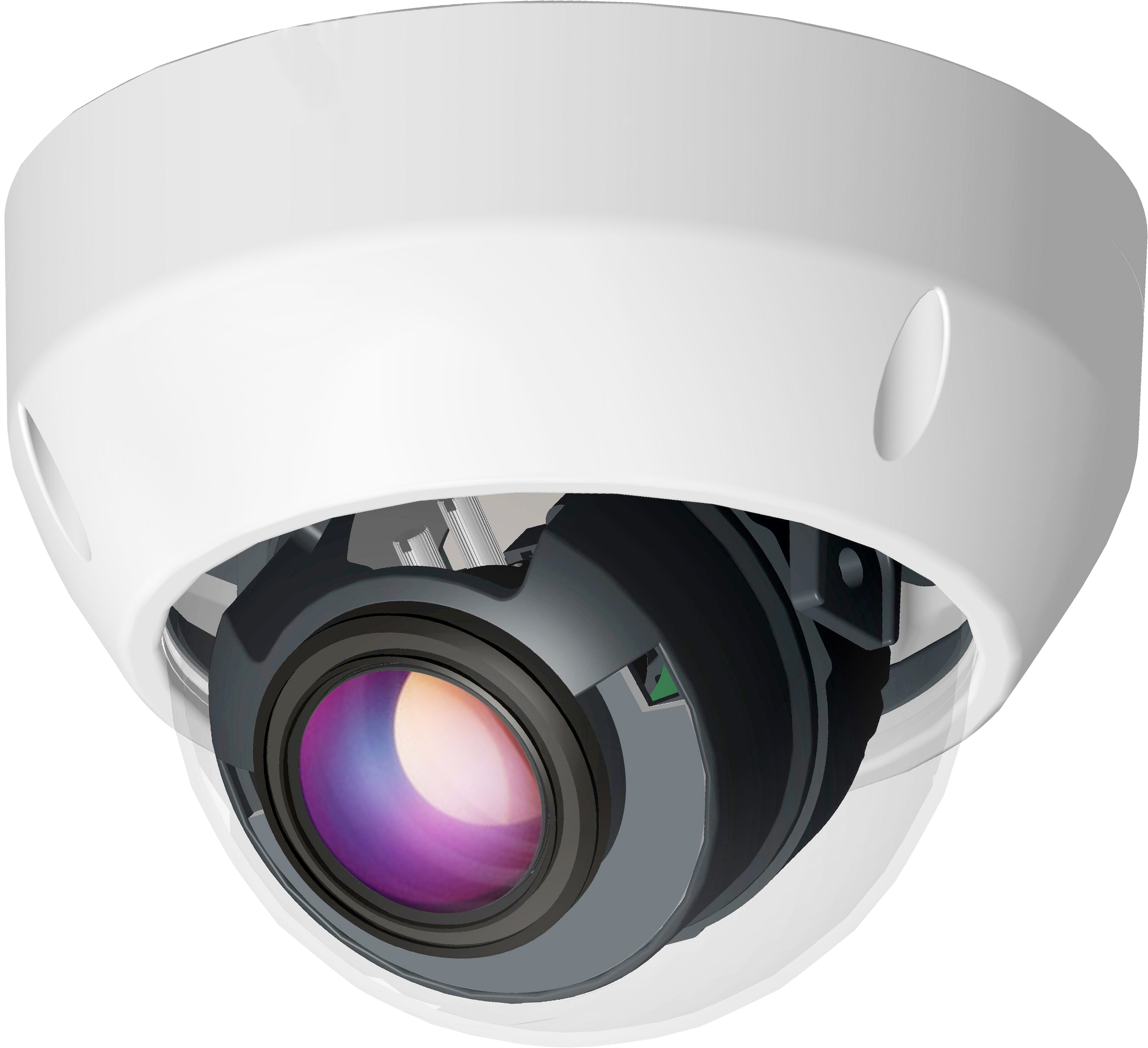 HTV-IP-D3115-5235 — 5 Мп купольная SMART IP-камера, ИК-40м.
