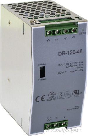 HTV-DR-120-48 Блок питания 48-54 Вольта