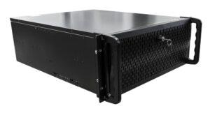 HTV-TR128-8HDD сетевой регистратор на 128 каналов с ПО TRASSIR